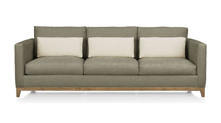 Traval Sofa from Crate and Barrel