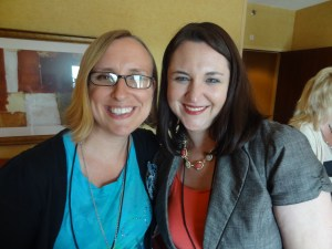 Kim and me at the She Speaks conference