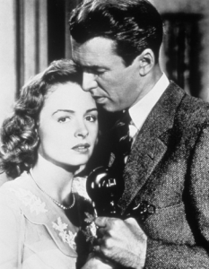 """Scene from """"It's a Wonderful Life"""" *image found in public domain"""