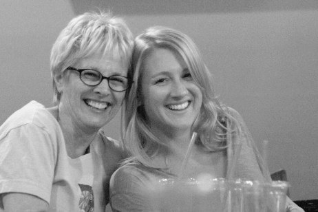 photo of Tracy Newman and Charlotte Dean