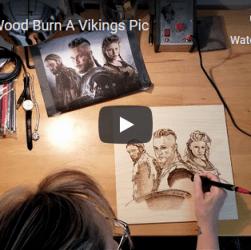 How I Burn A Vikings Pic