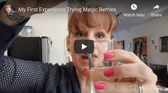 My First Experience Trying Magic Berries