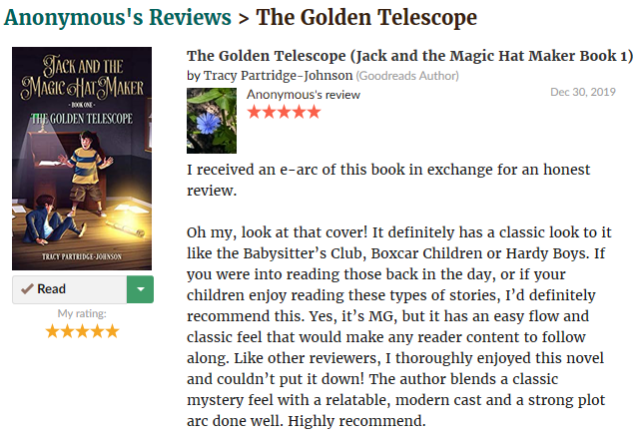The Golden Telscope - Review 9