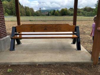 Bench Installed