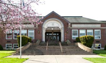 Washington Grade School - Vernonia - cropped
