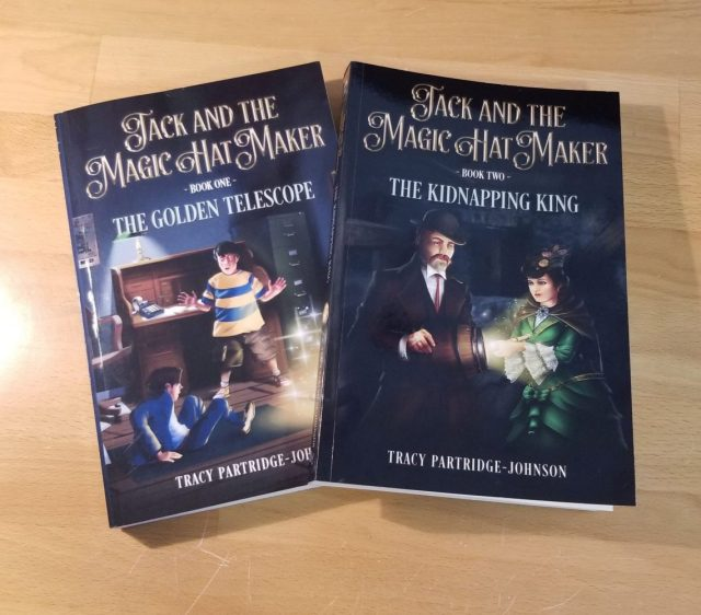 Jack and the Magic Hat Maker - Books 1 and 2