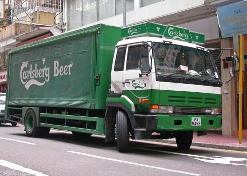 German Bier Truck