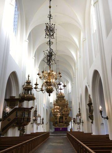 Malmo aisle church