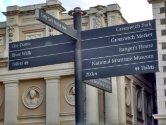 Greenwich signs
