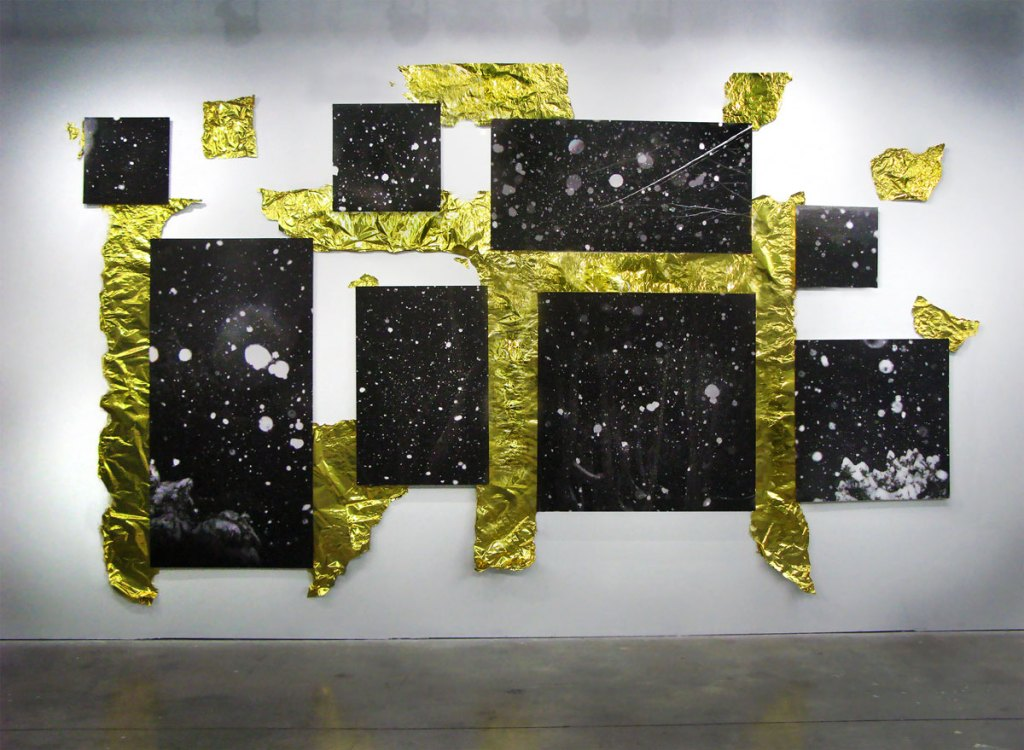 Sublimated Spaces Installation View