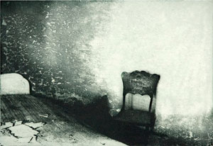 """#10 Untitled from the suite Impressions (1998, 7x10"""", 14x17"""")"""