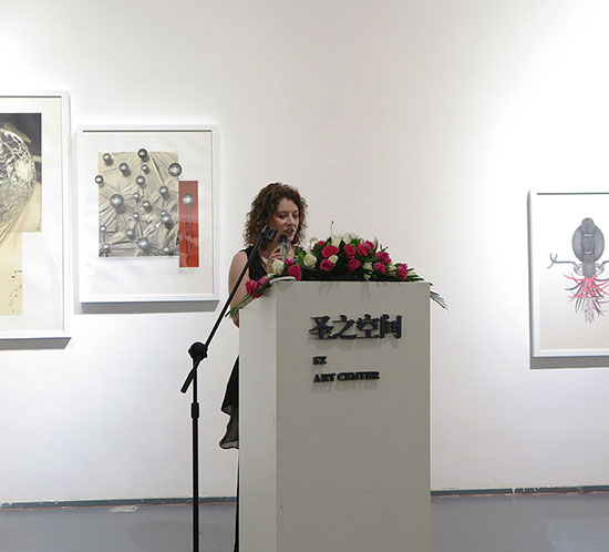 Tracy Templeton Talk at the Resonance Opening in Beijing