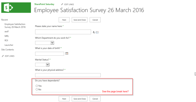 Survey 9