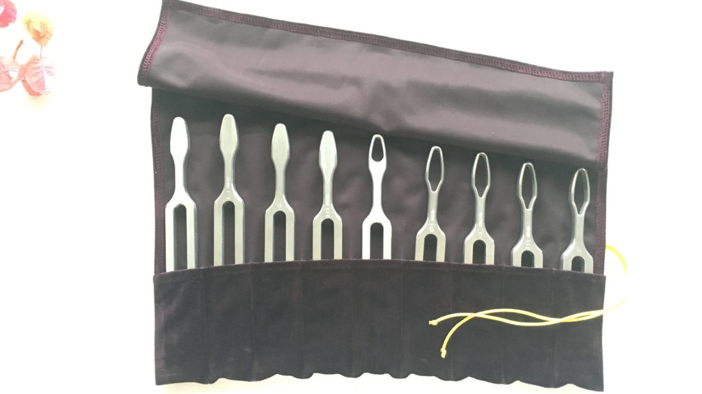 Tracy White sound healing Tuning forks