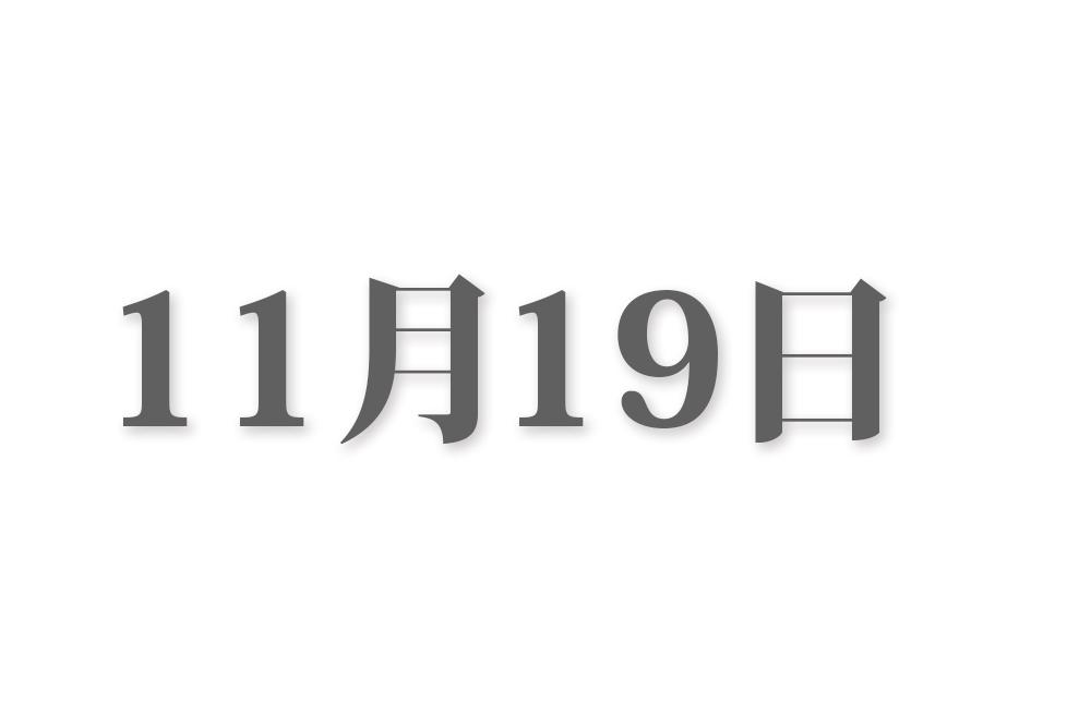 11月19日と言えば? 行事・出来事・記念日|今日の言葉・誕生花・石・星|総まとめ