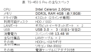 specification-of-ts453spro