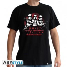 "STAR WARS - Tshirt ""StormTroopers"" uomo SS nero - basic"