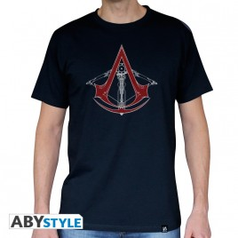 "ASSASSIN'S CREED - Tshirt ""AC5 - Balestra"" uomo SS navy - basic"