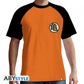 """DRAGON BALL - Tshirt """"Kame Symbol"""" uomo SS arancione - basic"""