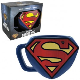 DC COMICS - Tazza Logo Superman sagomato x1