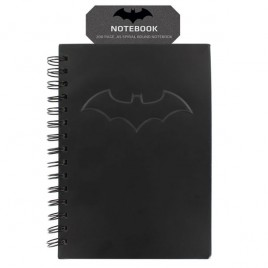 DC COMICS - Notebook Black Batman con logo x1
