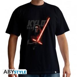 "STAR WARS - Tshirt ""Kylo Ren"" uomo SS nero - basic"
