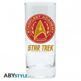 "STAR TREK - Glass ""Command"" x2"