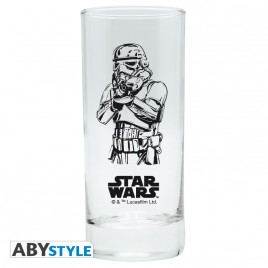 "STAR WARS - Glass ""Trooper"" x2"