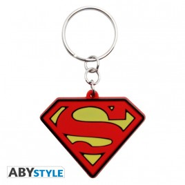 "DC COMICS - Portachiavi in ​​PVC ""Superman"" X4"
