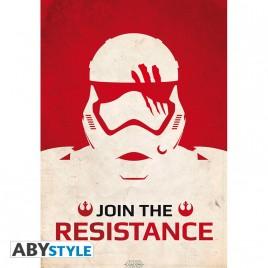 STAR WARS - Poster «Unisciti alla Resistenza» roulé filmé (98x98)