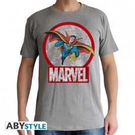 """DR STRANGE - Tshirt """"Strange Marvel"""" uomo SS sport grigio - basic"""