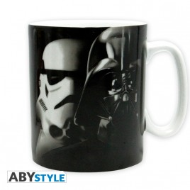 STAR WARS - Tazza - 460 ml - Vador / Troopers - subli - con boxx2