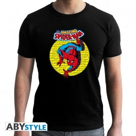 "MARVEL - Tshirt ""SPDM Vintage"" uomo SS nero - nuova vestibilità"