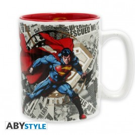 DC COMICS - Tazza - 460 ml - Superman e logo - con boxx2