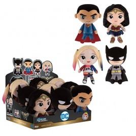 DC COMICS - Assortimento di giocattoli di peluche 18cm x9