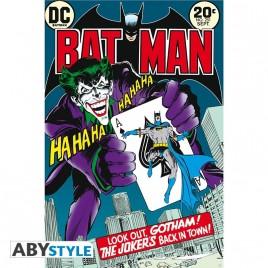 """DC COMICS - Poster """"Il ritorno di Joker in città"""" (91.5x61)"""