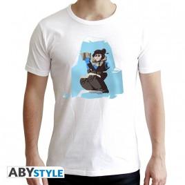 "OVERWATCH - Tshirt ""Mei"" uomo SS bianco - nuova vestibilità"