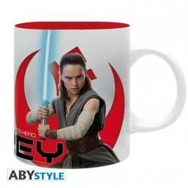 "STAR WARS - Tazza - 320 ml - ""Rey E8"" - subli - con scatola x2"