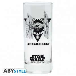 "STAR WARS - Glass ""First Order"" x2"