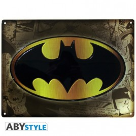 "DC COMICS - Placca di metallo ""Batman"" (28x38)"