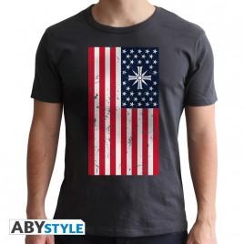 FAR CRY - Tshirt - Flag - uomo SS grigio scuro - nuova vestibilità