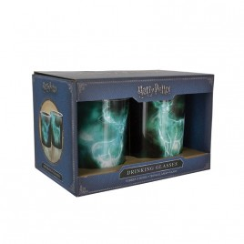 HARRY POTTER - Patronus Drinking Glasses 2-pack