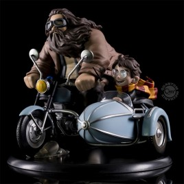 HARRY POTTER - Harry Potter e Rubeus Hagrid Q-FIG MAX