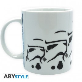 STAR WARS - Tazza - 320 ml - Esercito Stormtrooper - con boxx2