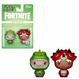 FORTNITE - POP!  Pint Sized!  Vinile: Rex e Tricera Ops