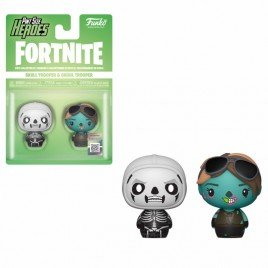 FORTNITE - POP!  Pint Sized!  Vinile: Skull Trooper e Ghoul Trooper