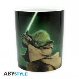STAR WARS - Tazza - 460 ml - Yoda - con boxx2