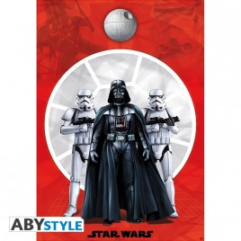 "STAR WARS - Poster ""Darth Vader & 2 Troopers"" (98x68)"