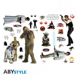 STAR WARS - Stickers - 100x70cm - Ribelli (blister)