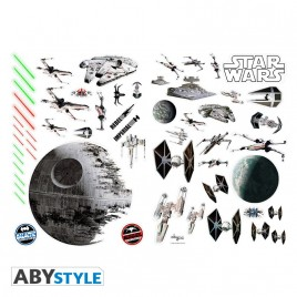 STAR WARS - Stickers - 100x70cm - Battleships (blister)
